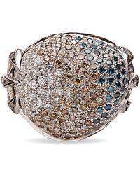 Madstone Poseidon Diamond Ring - Metallic