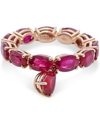Sidney Garber | Ruby Drop Ring | Lyst