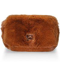 780240e93334 Lyst - Sonia Rykiel Medium Le Copain Faux Fur Shoulder Bag in Brown