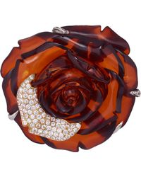 Sylvie Corbelin - Amber Flower Ring - Lyst