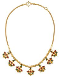 Royal Thai - Thai Lotus Necklace - Lyst