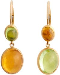 Sidney Garber - Peridot Citrine Earrings - Lyst