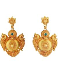 Royal Thai - Thai Peacock Earrings - Lyst
