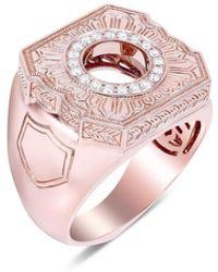 Stephen Webster Engraved England Made Me Ring - Pink