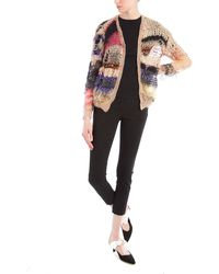 Rodarte Multi Loose Knit Cardigan - Black
