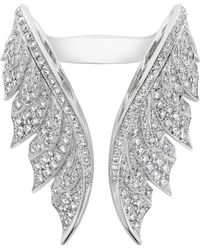 Stephen Webster - Magnipheasant Feather Open Diamond Ring - Lyst