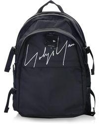 84fc898dc8 Lyst - Yohji Yamamoto Black Signature Backpack in Black for Men