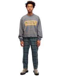OAMC Triptych Crewneck Sweater - Gray