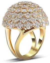 Mimi So Jasmine Diamond Ring - Metallic