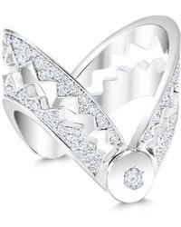 Akillis Open Claw Ring - Metallic