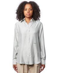 Barbara Casasola - Pinstripe Shirt - Lyst