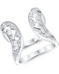 Akillis Capture Me Diamond Ring - Metallic