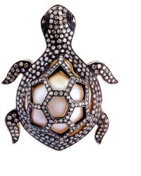 Kirat Young - Turtle Ring - Lyst