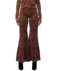 Chloé - Baroque Wide Leg Pants - Lyst