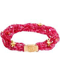 Mimi So Wonderland Bee Bracelet - Red