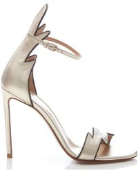 65c34d36e978 Lyst - Christian Louboutin Maralena Flame Sandal in Natural