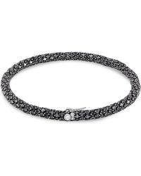 Sidney Garber - Black Diamond Rolling Bracelet - Lyst