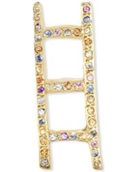 Allison Read Smith - Gold Ladder Multi Sapphire Pendant - Lyst