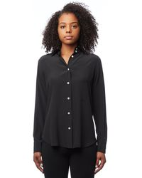 Barbara Casasola - Black Silk Shirt - Lyst