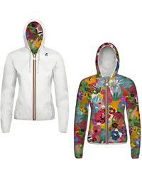 K-Way Lily Plus Double Graphic - Bianco