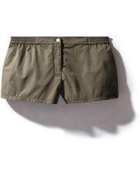Kampos - Shorts Olive Green - Lyst