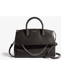Karen Millen Chain Detail Bag - Black