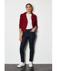 Karen Millen - Power Stretch Skinny Jeans Indigo - Lyst
