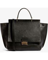Karen Millen - Flap Front Tote Bag - Lyst