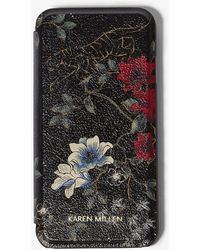 Karen Millen - Tiger Phone Case - Lyst