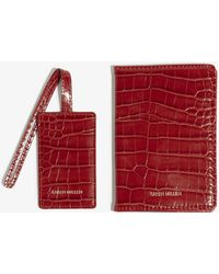 Karen Millen - Passport Cover & Luggage Tag - Lyst