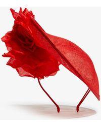 Karen Millen - Floral Hat - Lyst