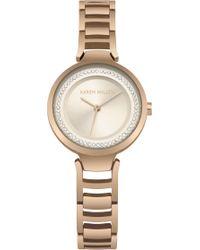 Karen Millen - Bracelet Watch - Lyst