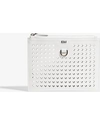 Karen Millen | Perforated Pouch Bag | Lyst
