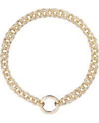 Karen Millen - Hoop Necklace - Lyst