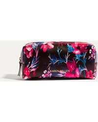 Karen Millen - Floral Travel Washbag - Lyst