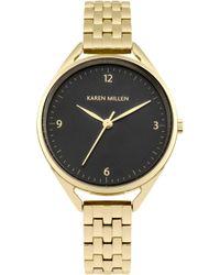 Karen Millen - Classic Bracelet Watch - Gold Colour - Lyst