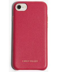 Karen Millen - Leather Phone Case - Lyst