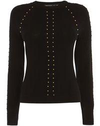 Karen Millen - Studded Sweater - Lyst
