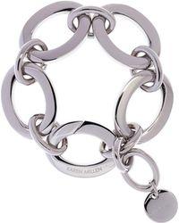 Karen Millen - Custom Chain Bracelet - Silver Colour - Lyst