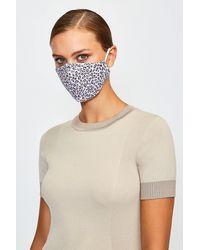 Karen Millen Fashion Face Mask - Multicolour