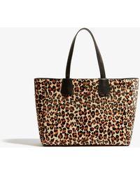 Karen Millen - Leopard East West Tote Bag - Lyst