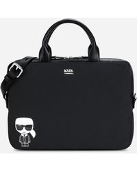 Karl Lagerfeld K/ikonik Laptop Sleeve - Black