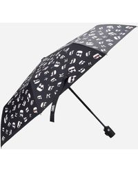 Karl Lagerfeld - K/ikonik Printed Umbrella - Lyst