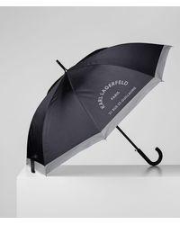 Karl Lagerfeld Rue St-guillaume Umbrella - Black