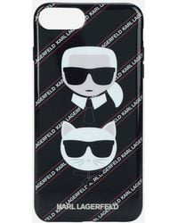 Karl Lagerfeld - Karl And Choupette Iphone + Case - Lyst