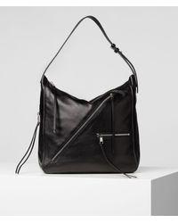 Karl Lagerfeld K/odina Hobo Bag - Black