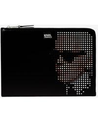 Karl Lagerfeld - Yoni Alter Keychain Pouch - Lyst