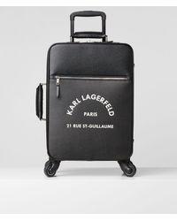 Karl Lagerfeld Rue St-Guillaume Spinner-Trolley - Schwarz
