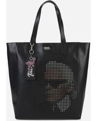 Cheap Sale Footlocker Finishline Karl Lagerfeld Yoni Alter perforated shopper Cheap Cost kDIGZAkF