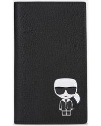 Karl Lagerfeld - K/ikonik Travel Wallet - Lyst
